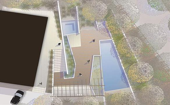 该花园的设计意图是用生态方法打造一个具备自动调节功能的花园